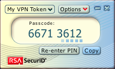 RSA SecurID Software Token for Mac OS X