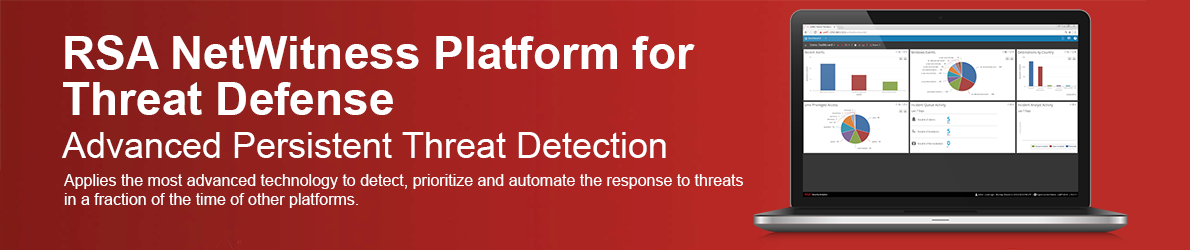 RSA NetWitness Platform for Threat Defense