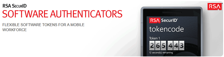 RSA Software Authenticators