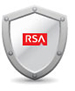 Icon: RSA Security Badge